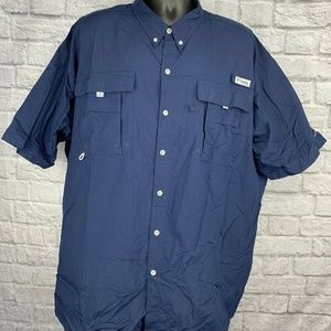 Men's 3XT Big & Tall COLUMBIA Omni-Shade PFG Shirt
